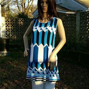NEW Sleeveless tunic
